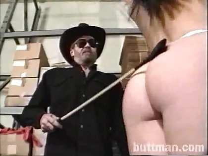 Horny cowgirl with natural tits gets her asshole jammed hardcore