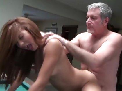 Young Girl Fucks Old Guy
