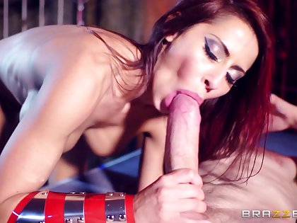 X pornstar Madison Ivy with awesome performance tits penetrated