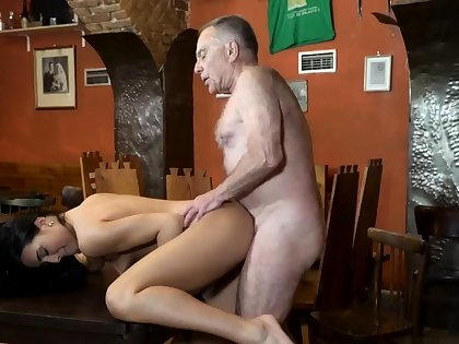 Penny step daddy increased by old woman be captivated by young girls Can you