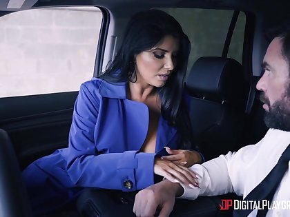 Romi Rain and Charles Dera enjoy make up sex after a big fight